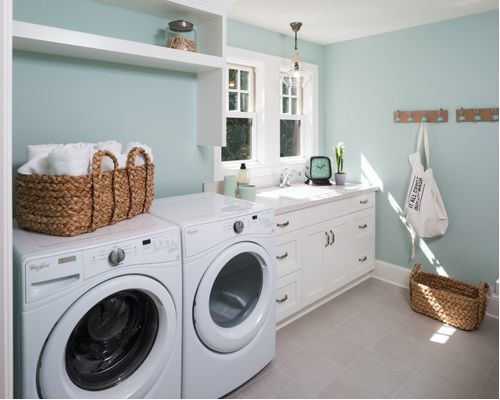 Laundry 2: David Charlez Designs, original photo on Houzz