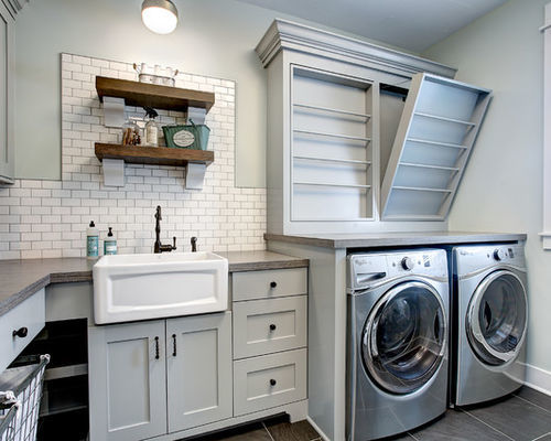 Laundry 4: CVI Design - Carly Visser, original photo on Houzz